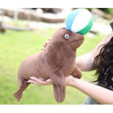 Мягкая игрушка Морской котик, 34 см