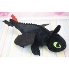 """Мягкая игрушка """"Беззубик"""", Ночная Фурия, """"Как приручить дракона"""" 45 см."""