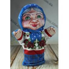 Игрушка рукавичка Бабушка, 28 см