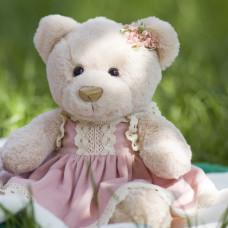 """Свадебная игрушка медвежонок """"Мариэль"""", 32 см."""