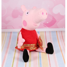 Мягкая игрушка Свинка Пеппа принцесса, 37 см