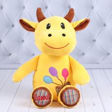 """Мягкая игрушка Бычок, из серии """"Лаки"""", 35 см."""