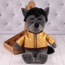 Мягкая игрушка Волчонок Бася, 39 см.