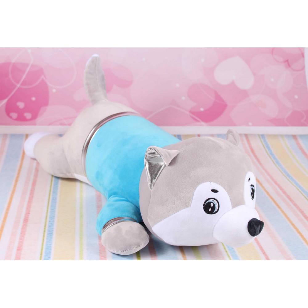 Мягкая игрушка волк, игрушка подушка
