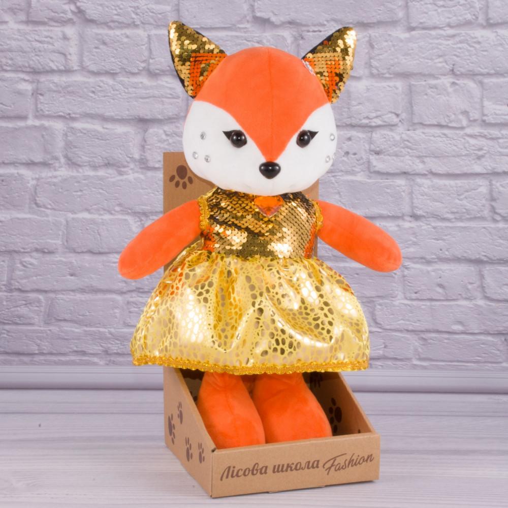 Мягкая игрушка Лисичка Муся
