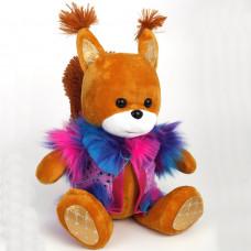 Мягкая игрушка Белка Муся, 41 см.