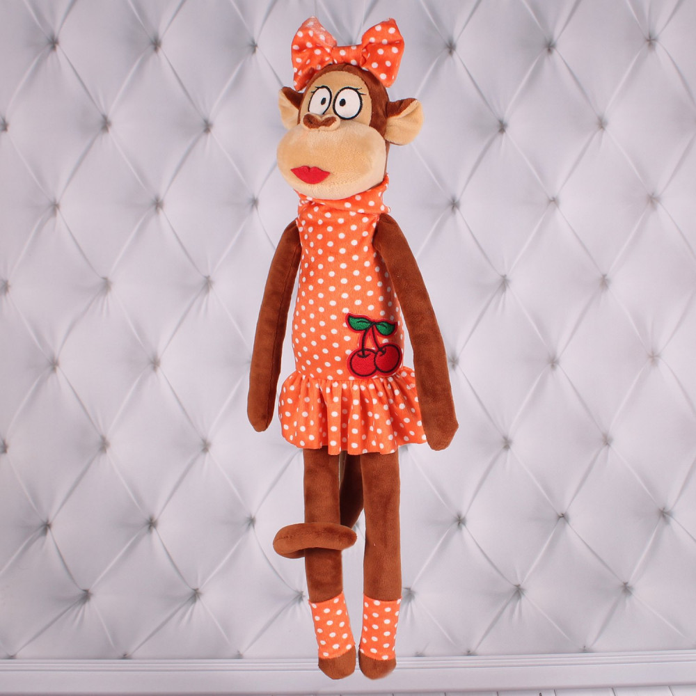 """Мягкая игрушка обезьянка, из серии """"Круть"""""""