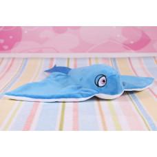 Мягкая игрушка Голубой Скат, 43 см