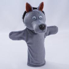 Игрушка рукавичка Волк, 32 см