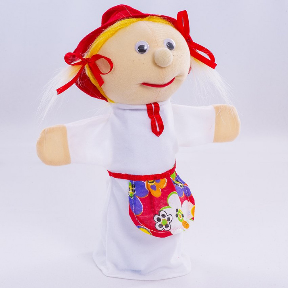 Игрушка рукавичка Красная шапочка