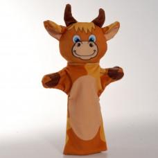 Игрушка рукавичка Бычок, 31 см