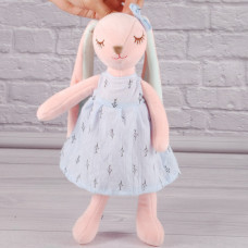Мягкая игрушка Зайка в платье, 35см.