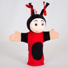 """Мягкая игрушка на руку  """"Мила"""", кукольный театр."""