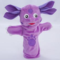 "Мягкая игрушка на руку  ""Лунтик"", кукольный театр"