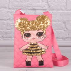 Детская сумочка с куклой LOL, 20 см.