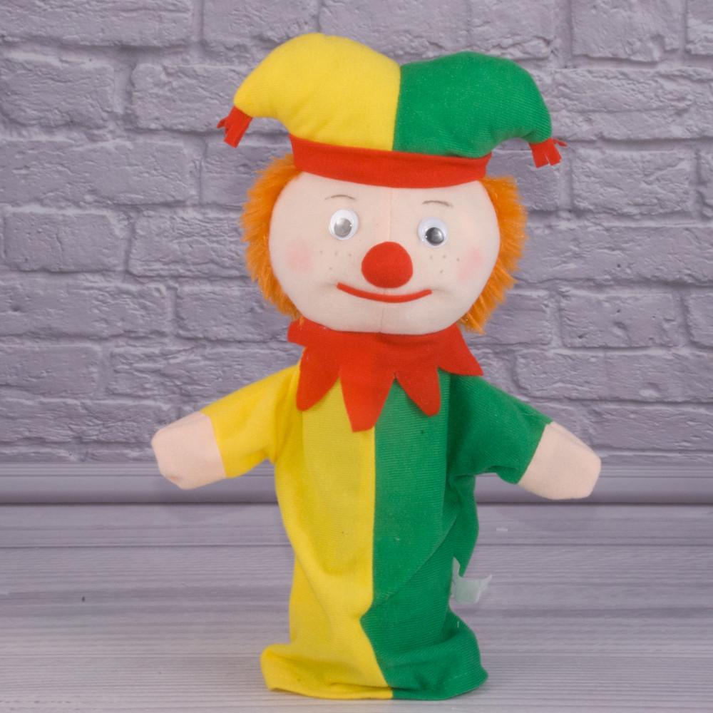 Купить игрушку рукавичку для кукольного театра Шута, куклу перчатку на руку