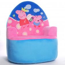 Детское мягкое кресло свинка Пеппа (копия)