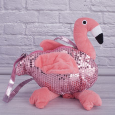 Мягкая сумка Фламинго