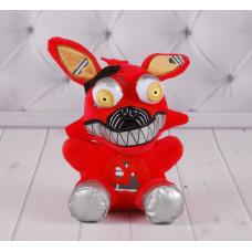 Мягкая игрушка Фокси, Фредди (красный, белый)