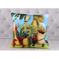"""Детская подушка """"Динозавры"""", подушка с динозаврами"""