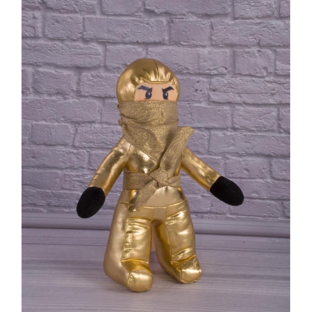 Мягкая игрушка Золотой, Лего Ниндзяго