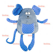 Мягкая игрушка  Сувенир Мишка, синий