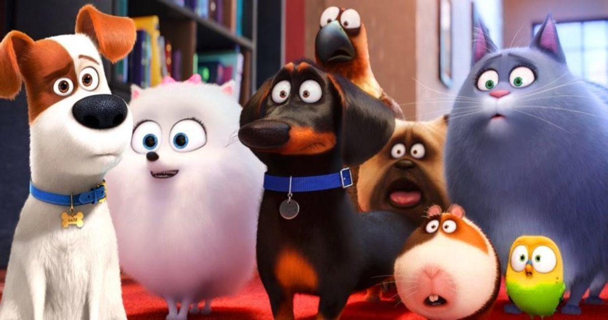 """Мягкие игрушки """"Тайная жизнь домашних животных"""""""